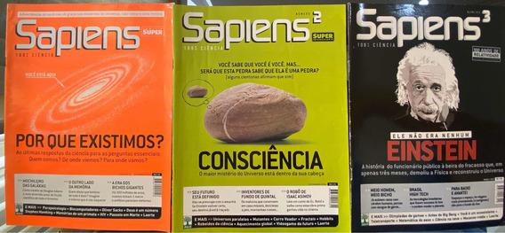 Revista Sapiens Números 1, 2 E 3. Família Superinteressante.