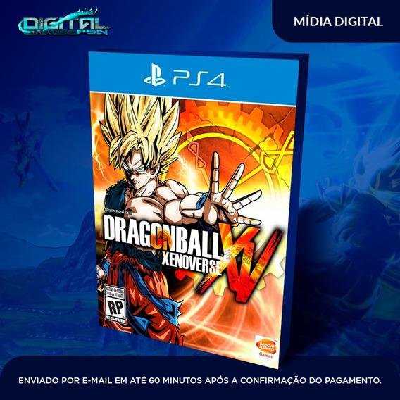 Dragon Ball Xenoverse Ps4 Psn Midia Digital Em 10 Min!