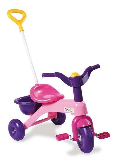 Rondi Mi Primer Triciclo Rosa Con Barral 3540 (3283)