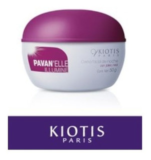 Crema Facial De Noche Con Jalea Real Pavan Kiotis Paris