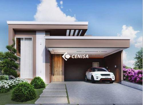 Imagem 1 de 7 de Casa Com 3 Dormitórios À Venda, 198 M² - Condomínio Piemonte - Indaiatuba/sp - Ca2530