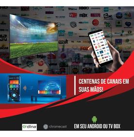 Tv On-line Lista Canais Latinos + Europa + Arabes / 1 Ano