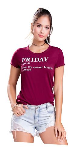 Camiseta Juvenil Femenino Atypical 70138