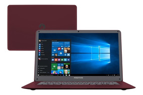 Notebook Positivo 2gb 32gb Ssd Tela 14 Motion Red Q232a