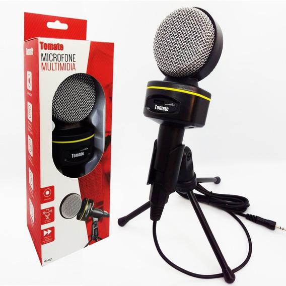 Atacado Com 10 Microfone Multimídia Condensador + Tripé
