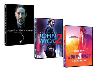 Trilogia John Wick Parabellum Peliculas Dvd