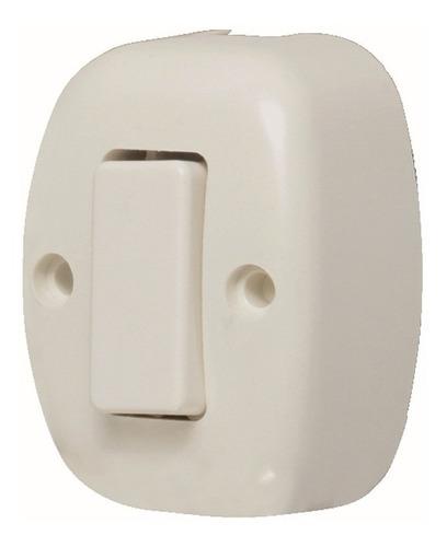 Interruptor Sencillo Visible Oval Fulgore Fu0123
