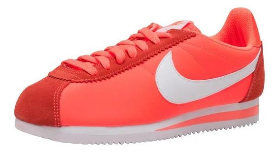 Tenis Nike Mujer Classic Cortez Nylon Original