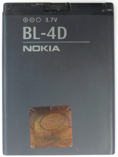 Imagen 1 de 7 de Bateria Original Nokia Bl-4d 3.7v 1200mah (2014) Oz4563