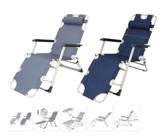 Cadeira Espreguicadeira Reclinável Para Casa Jardim Varanda
