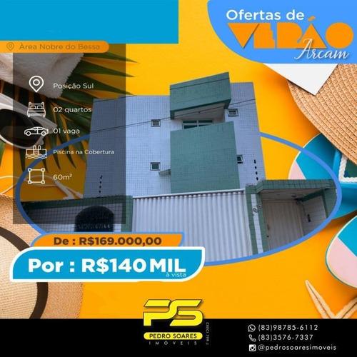 Apartamento Com 2 Dormitórios À Venda, 60 M² Por R$ 140.000 A Vista - Bessa - João Pessoa/pb - Ap4267
