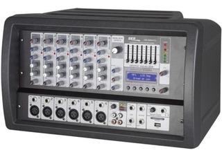 Skp Crx626 Cabezal Potenciado 500 Rms 6ch Usb Housemusic