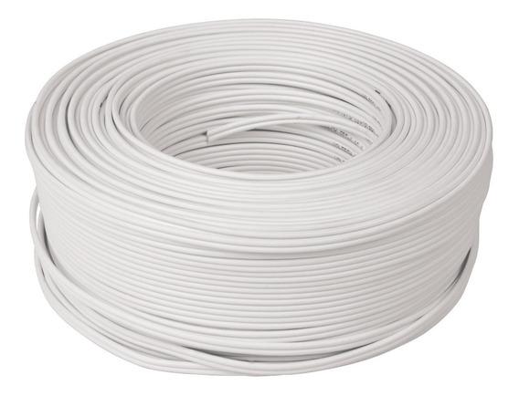 Cordón Duplex Flexible Spt, 18 Awg Rollo 100 M Cdu-18 46069