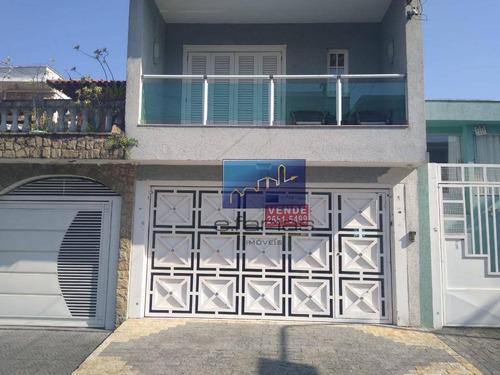 Sobrado Com 3 Dormitórios À Venda, 400 M² Por R$ 940.000,00 - Vila Guilhermina - São Paulo/sp - So0883