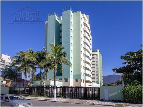 Apartamento Com 3 Quartos (1 Suíte) Frente Ao Mar No Centro Bertioga - Ap00280 - 69443786