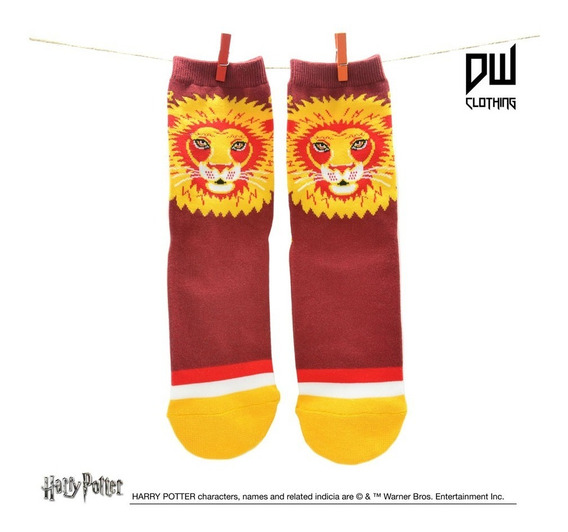 Medias Largas Harry Potter - Gryffindor - Producto Oficial