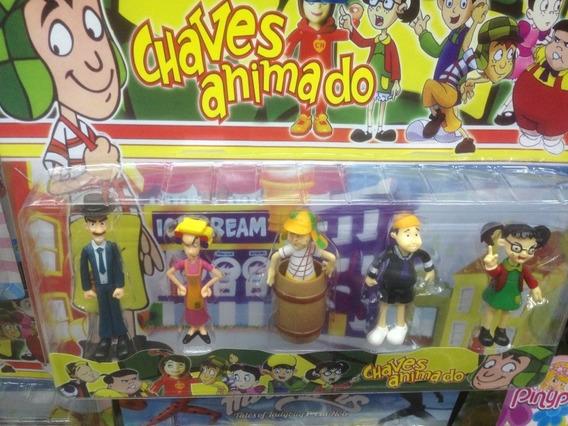 Kit Turma Do Chaves Com 5 Personagens