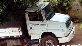 Mb 1620 Ano 2005 Truck, Carroceria Granel 2014 Bom Conjunto