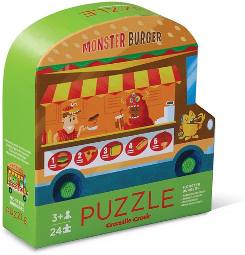 Puzzle 24 Piezas Doble Faz Crocodile Creek Educando