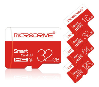 Microdrive 8gb 16gb 32gb 64gb 128gb Clase 10 Alta Velocidad