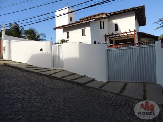 Casa Com 4 Dormitório(s) Localizado(a) No Bairro Pituaçú Em Salvador / Salvador - 5522