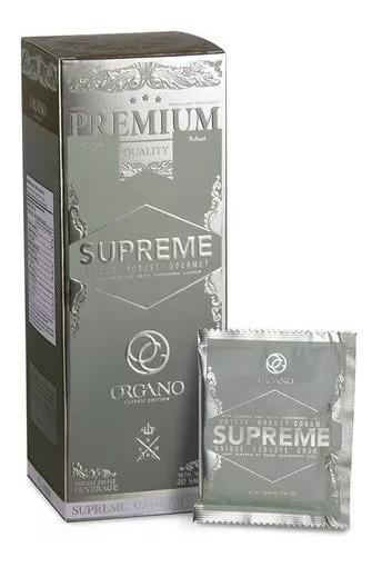 Café Supreme Organo Gold Con Ginseng Y Ganoderma Lucidum