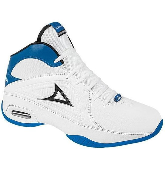 Tenis Caballero Marca Pirma Mod 786 Blanco/azul