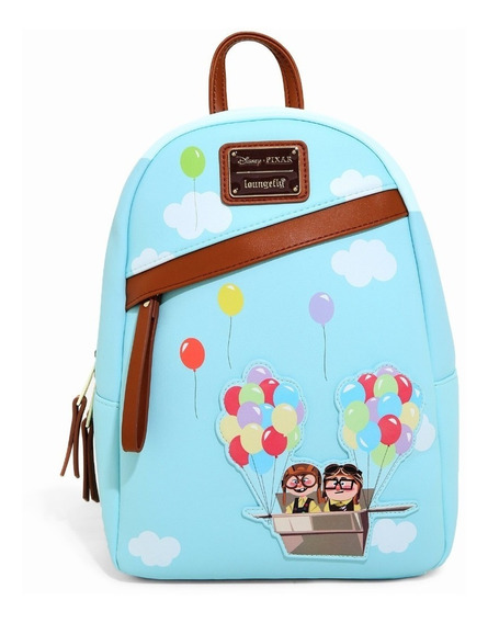 Disney Loungefly Pixar Up Aventura Mini Mochila En Stock!!