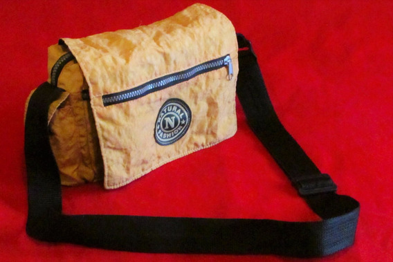 Bolsa Transversal Amarela Natural Fashion!