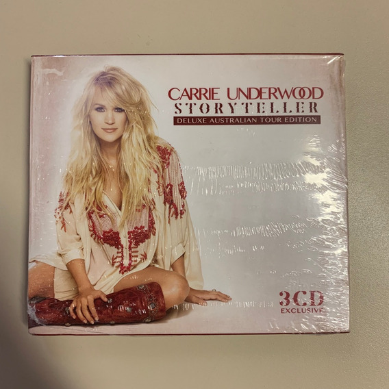 Cd Triplo Carrie Underwood Storyteller Australian Edition