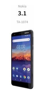 Teléfono Nokia 3.1