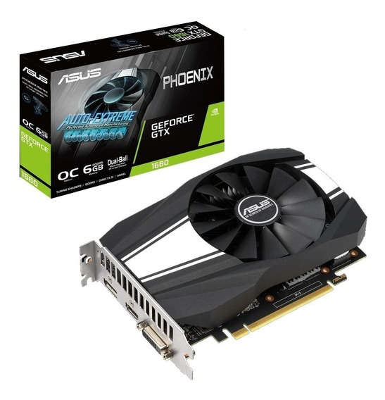 Placa De Video Asus Gtx 1650 Oc 6gb Ddr5