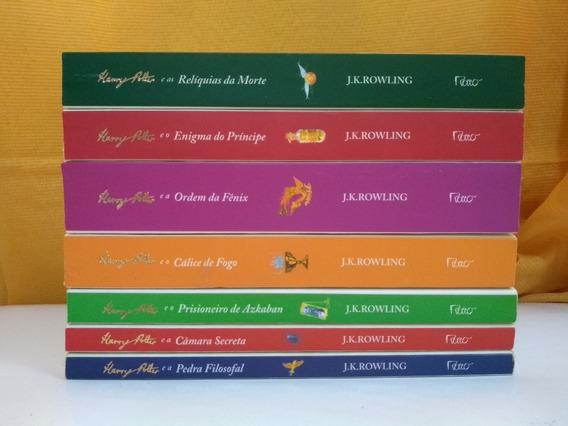 Coleção Harry Potter (capa Branca) - 7 Volumes