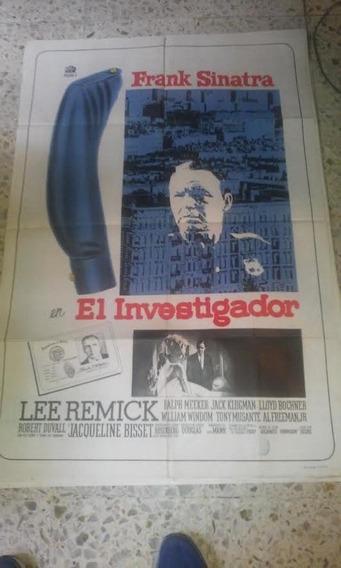 Frank Sinatra Afiche El Investigador