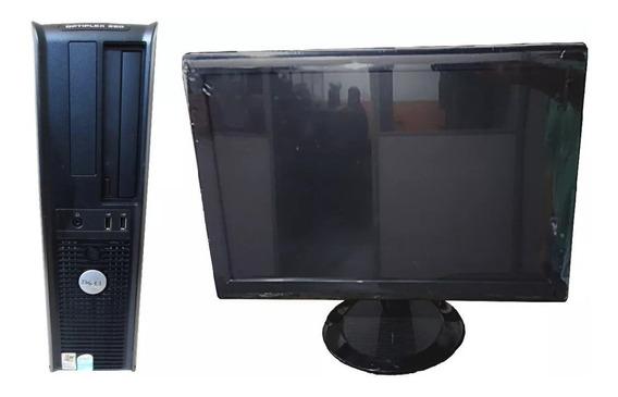 Dell Optiplex Dual Core 4gb 160gb Monitor 17 Pol Wifi Oferta