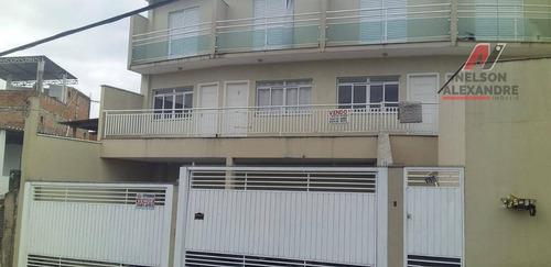 Sobrado Com 2 Dormitórios À Venda, 67 M² Por R$ 290.000 - Jardim Veloso - Osasco/sp - So0031
