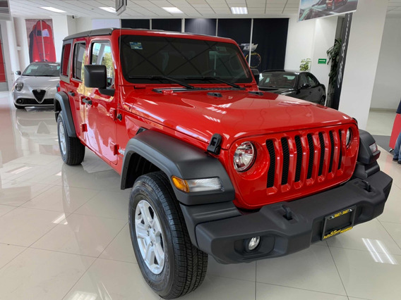 Jeep Wrangler 3.7 Unlimited Sport 3.6 4x4 At 2019
