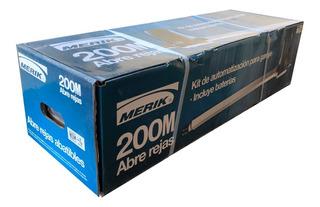 Kit De Pistones Power 200 Merik Para Puertas Automáticas