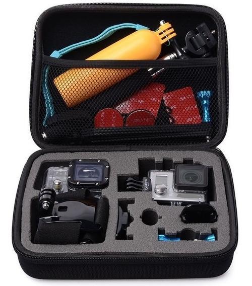 Case Estojo Rígido Antichoque Câmeras Gopro Hero 5 6 7