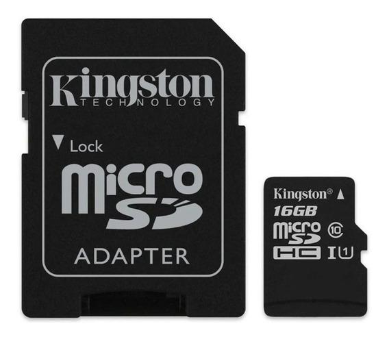 Cartão De Memoria Kingston Micro Sd 16 Canvas Select Plus