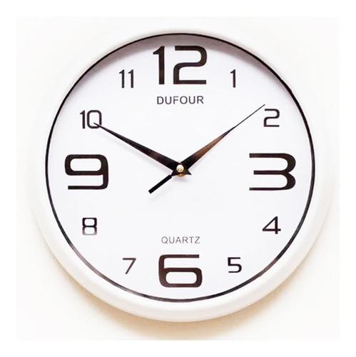 Imagen 1 de 8 de Reloj Pared Dufour 6034 Acrilico 30cm Garantía Oficial 12m.