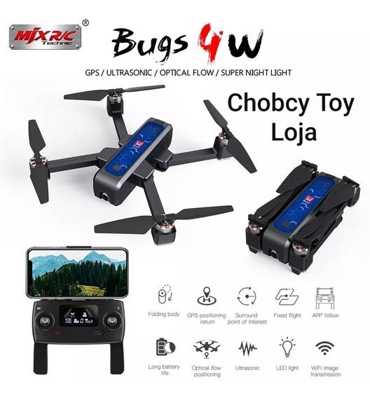 Drone Bugs 4w 2k 800m Fpv Gps 5ghz 2 Bat Nf-e