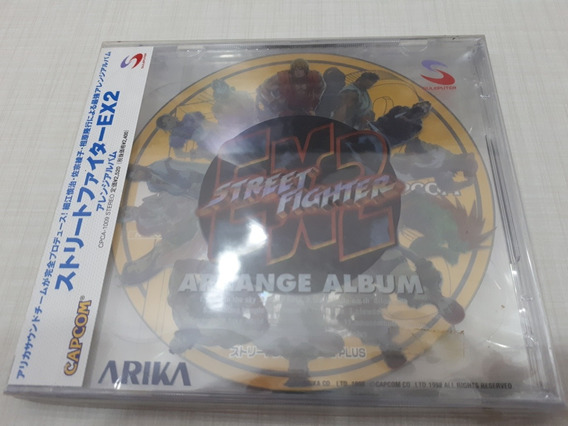 Cd Street Fighter Ex2 Arrange Album Soundtrack Trilha Sonora