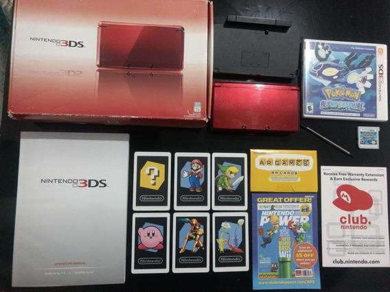 Nintendo 3ds Desbloqueado + Pokémon Alpha Sapphire