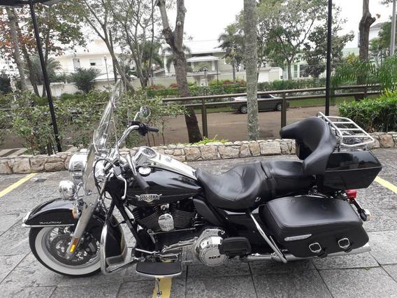 Harley Davidson Road King Classic 2013 Com Tour Pak