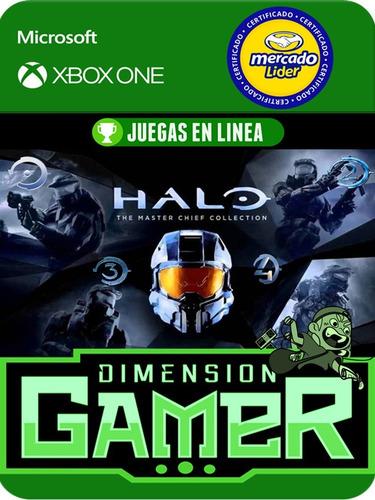Halo Masterchief Collection - Xbox One Modo Local + En Linea