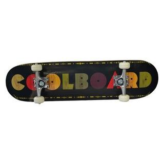 Patineta Premium Skate Skateboard Colorboard Negro Plt