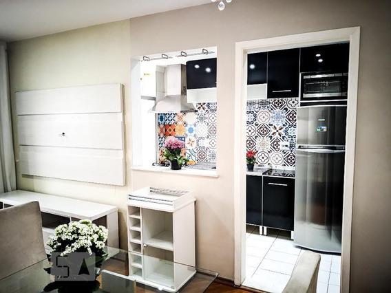 Apartamento No 13º Andar Mobiliado Com 2 Dormitórios E 1 Garagem - Id: 892969574 - 269574