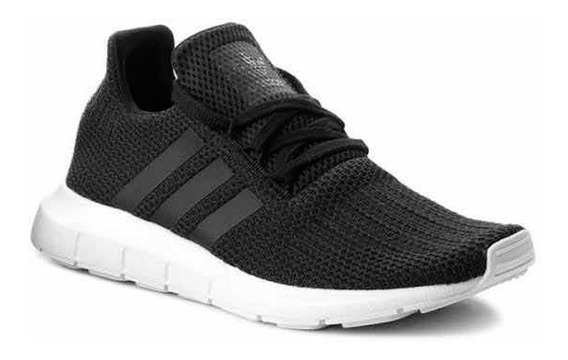 Zapatillas adidas Swift Run M Negra - Corner Deportes