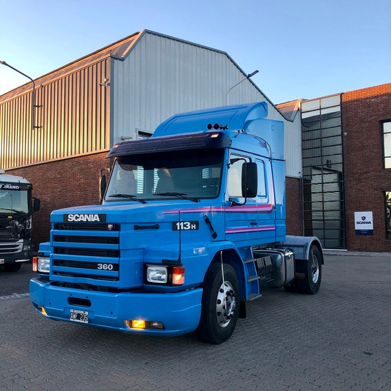 Scania 113 Topline 100% Original. Unico